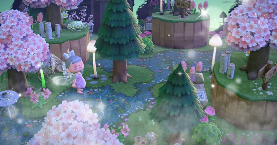 Animal Crossing: New Horizons' The Path dirt pattern is everywhere now