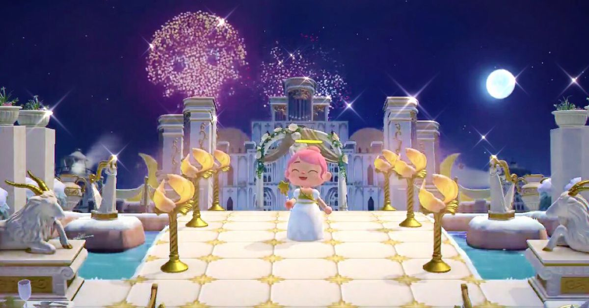 Animal Crossing: New Horizons fans are making pixel art with fireworks