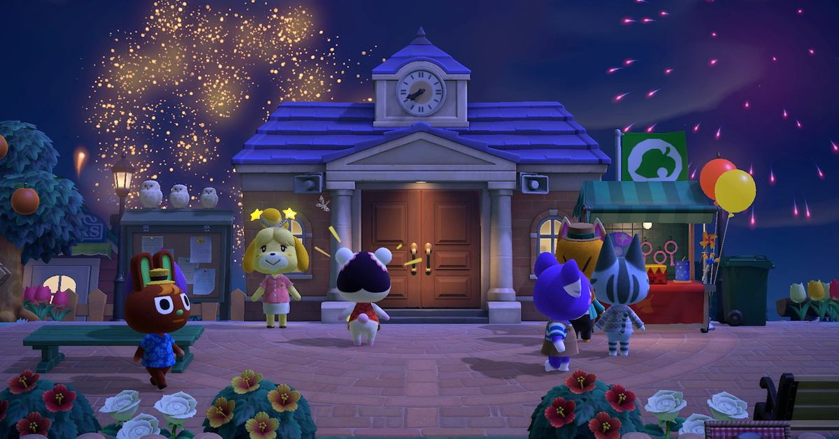 Animal Crossing: New Horizons fans are using fireworks to draw dicks