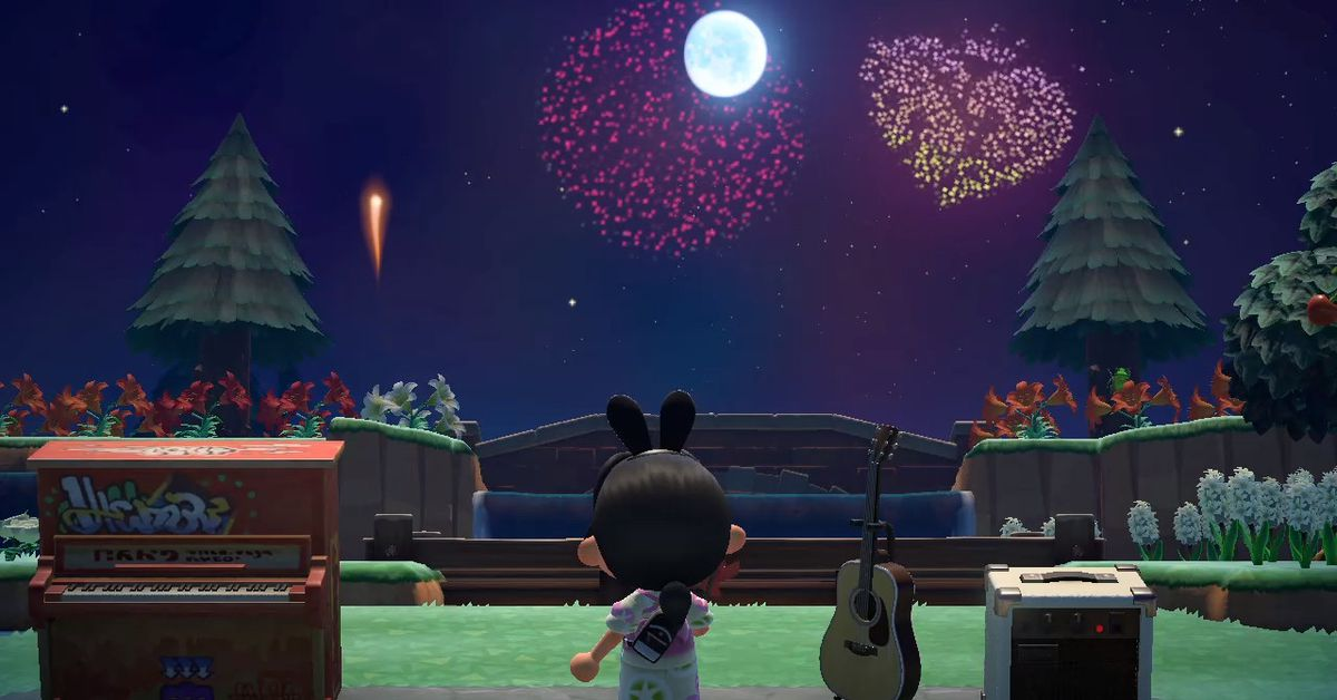 Animal Crossing New Horizons guide to Fireworks