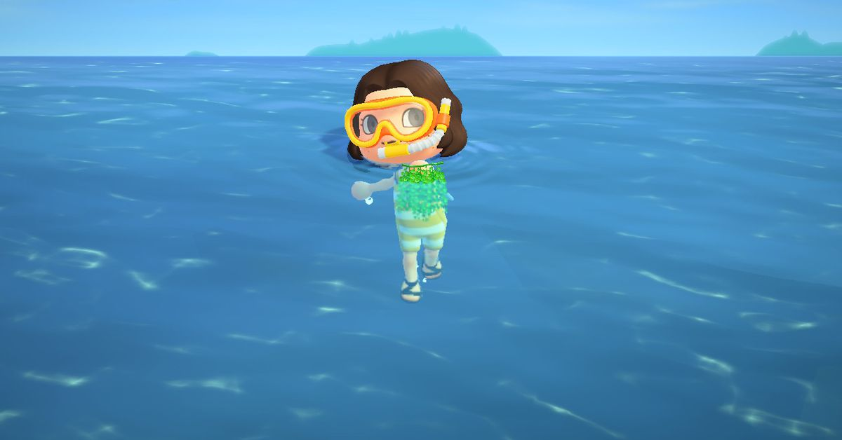 Animal Crossing: New Horizons' sea grapes are the new sea bass