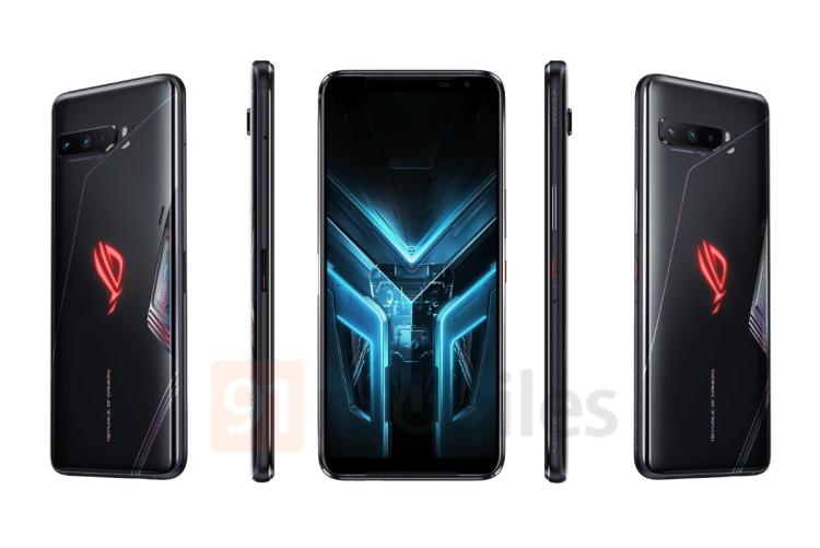 Asus ROG Phone 3 Render Leaks Online Ahead of July 22nd Launch