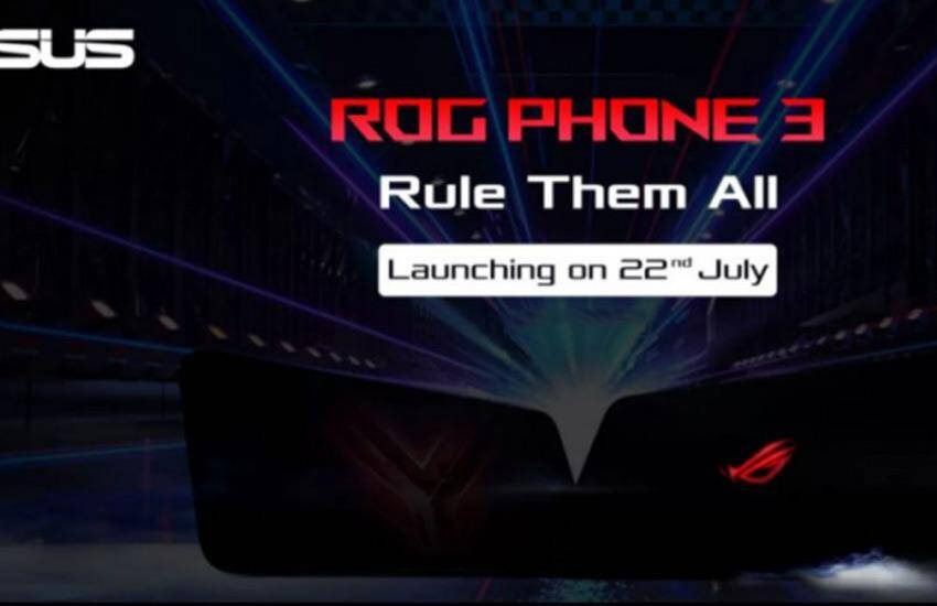 Asus ROG Phone 3 launch today 22 July, upcoming smartphones in india, know how to watch live streaming, flipkart - non chinese smartphone: Asus ROG Phone 3 will be launched in India today, know important details
