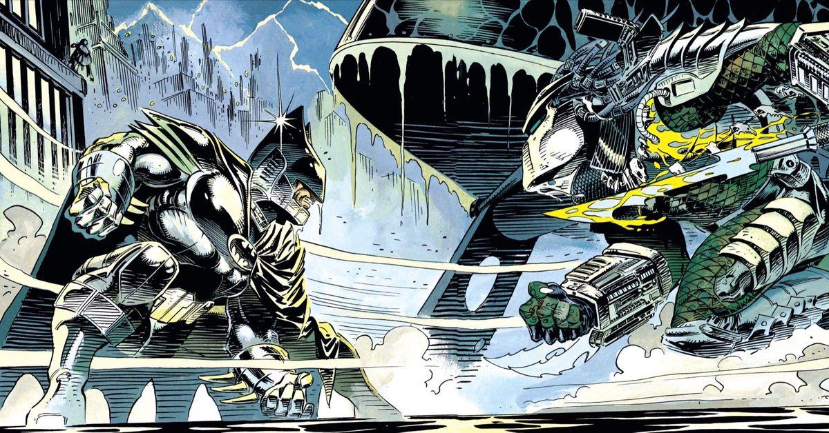 Batman vs. Predator is one of the best Batman comics ever, and it's gone