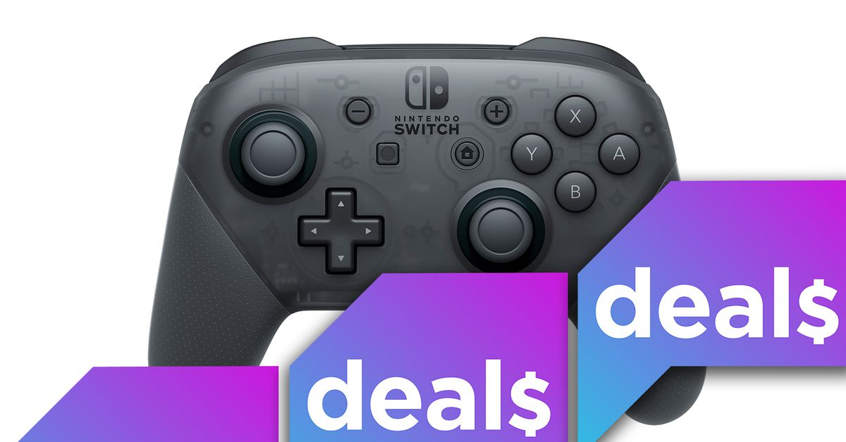 Best gaming deals: Nintendo Switch Pro Controllers, microSD cards, PCs