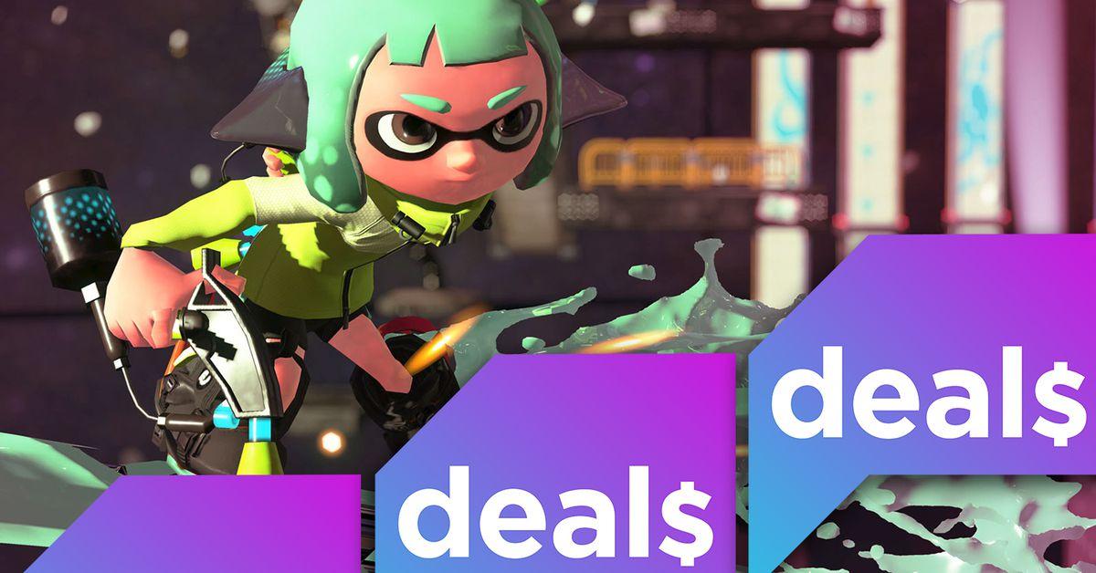 Best gaming deals: Splatoon 2, Switch controllers, digital comics
