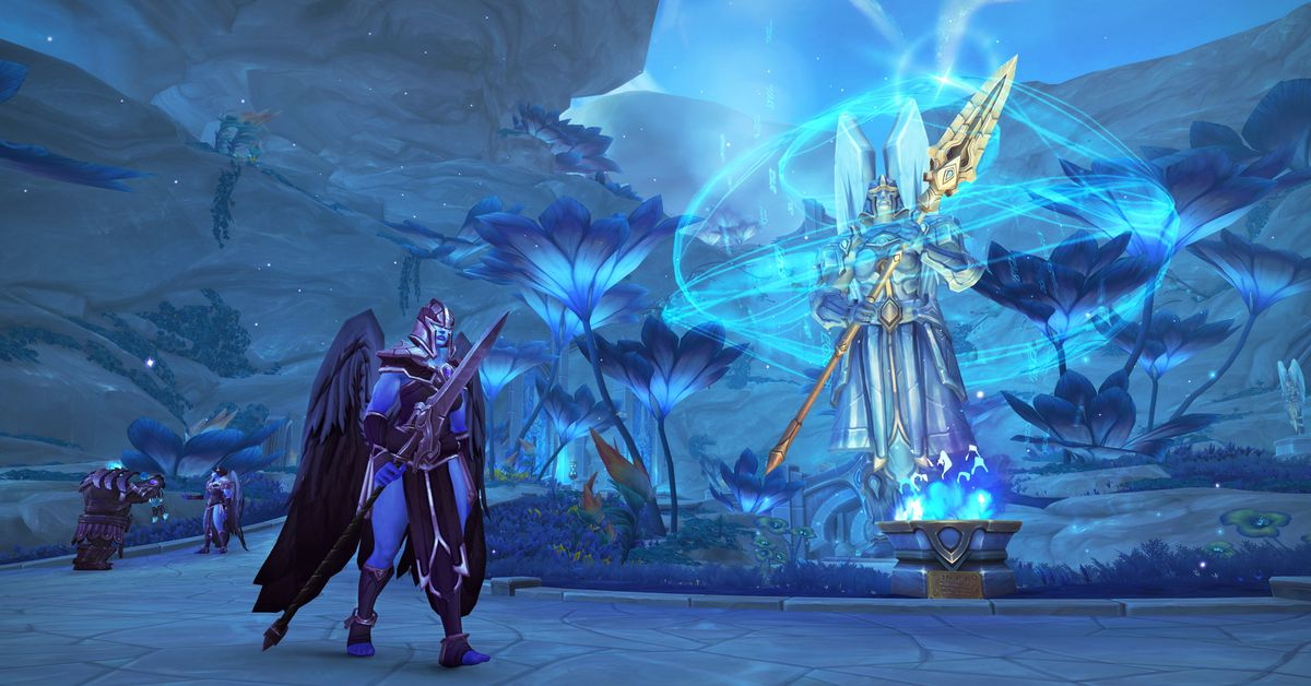 Blizzard removes fee to change gender in World of Warcraft: Shadowlands