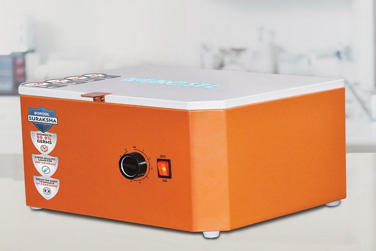 Borosil Suraksha UV Disinfection Box Launched in India for Rs 9,999