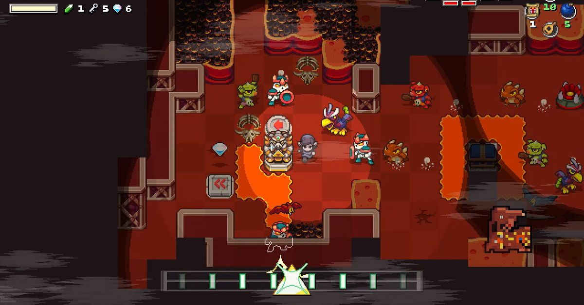 Cadence of Hyrule adds five characters, songs and story to come