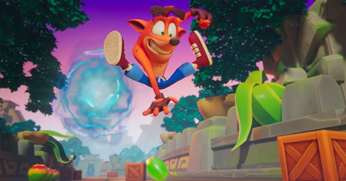 Crash Bandicoot: On the Run mobile game coming to Android, iOS