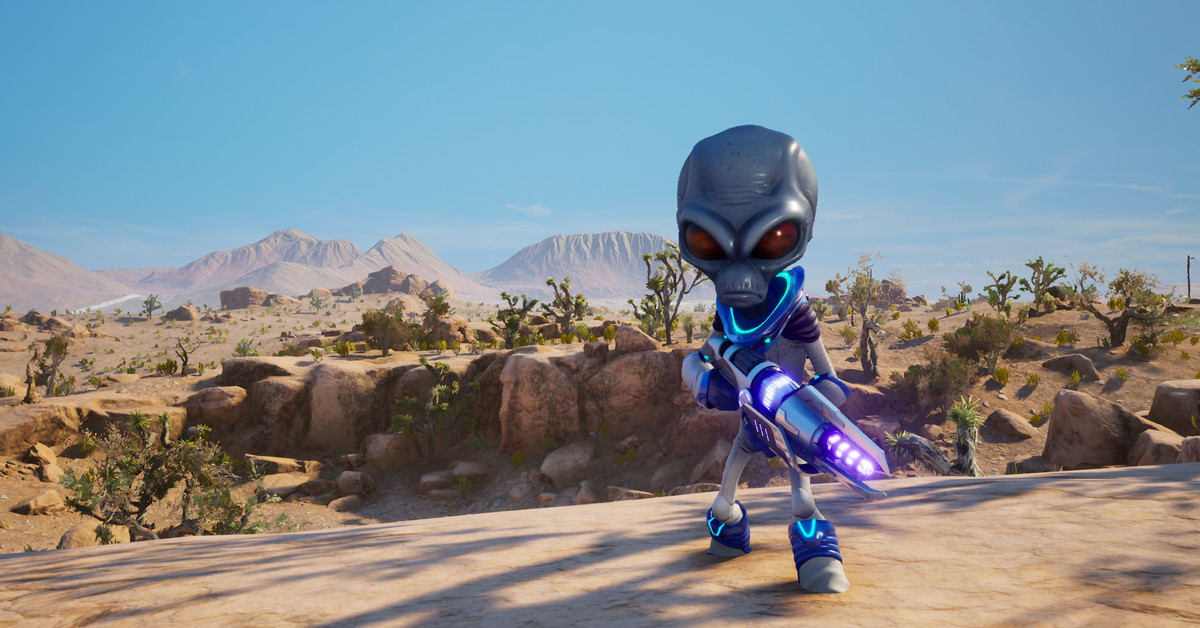 Destroy All Humans! review: an A+ remaster of a B+ game
