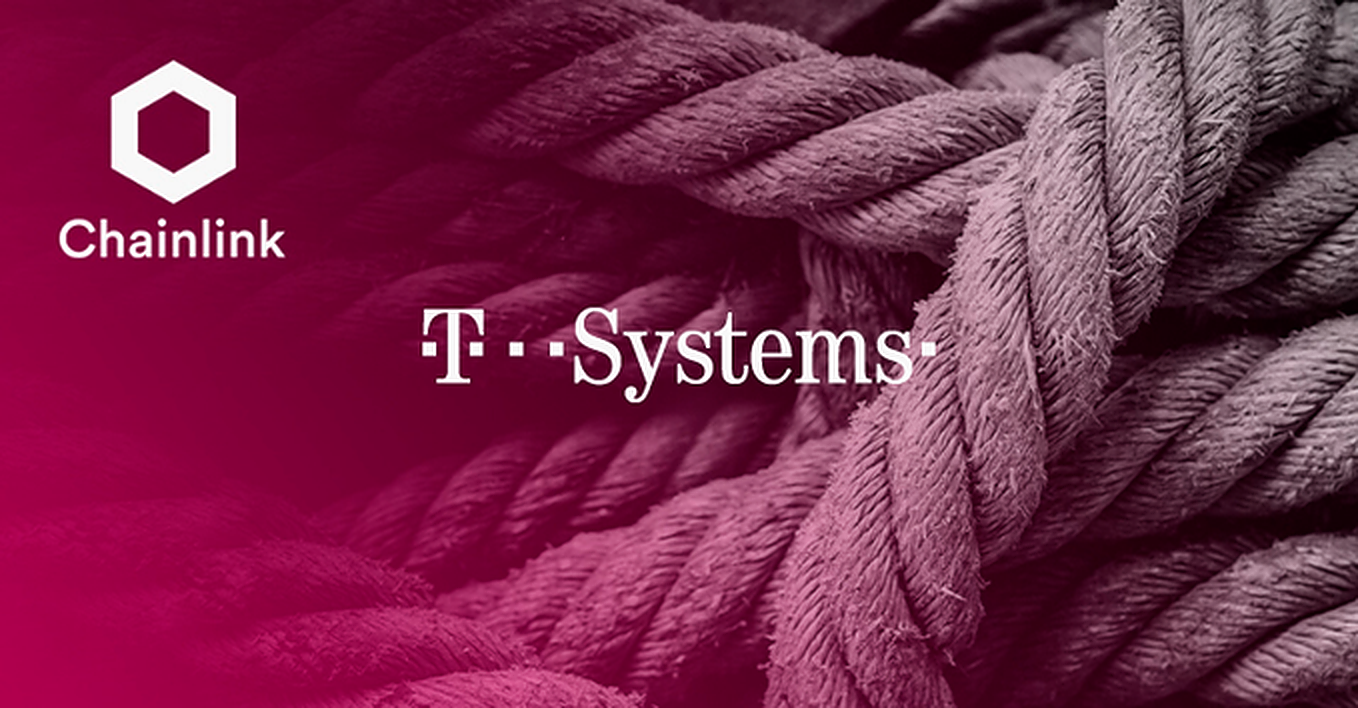 Deutsche Telekom's T-Systems becomes a Chainlink node operator for 'useful' smart contracts