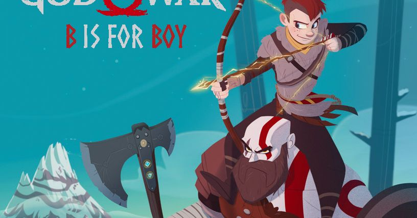 God of War: B is For Boy is an ABCs storybook adaptation of the PS4 exclusive
