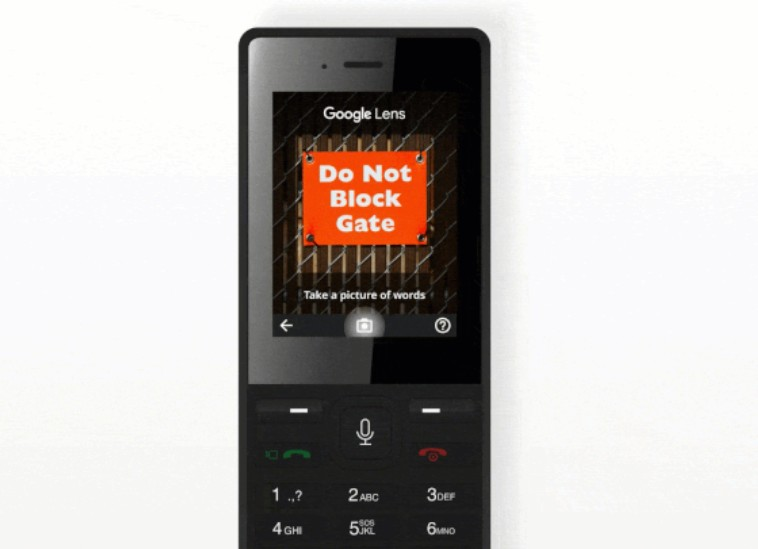 Google Lens comes to KaiOS feature phones for visual translations