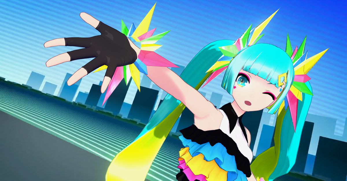 Hatsune Miku's Nintendo Switch debut is the ideal Vocaloid game