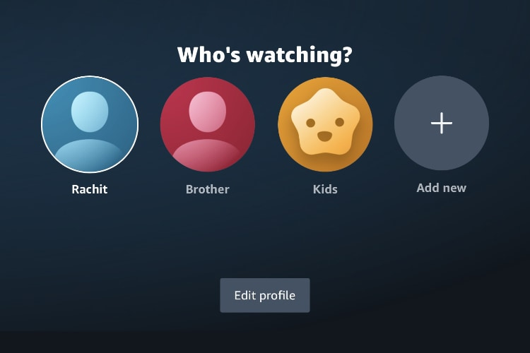 How to Add Multiple Profiles on Amazon Prime Video