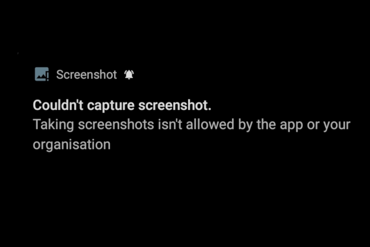 How to Take a Screenshot in Android Bypassing Restriction (2020)