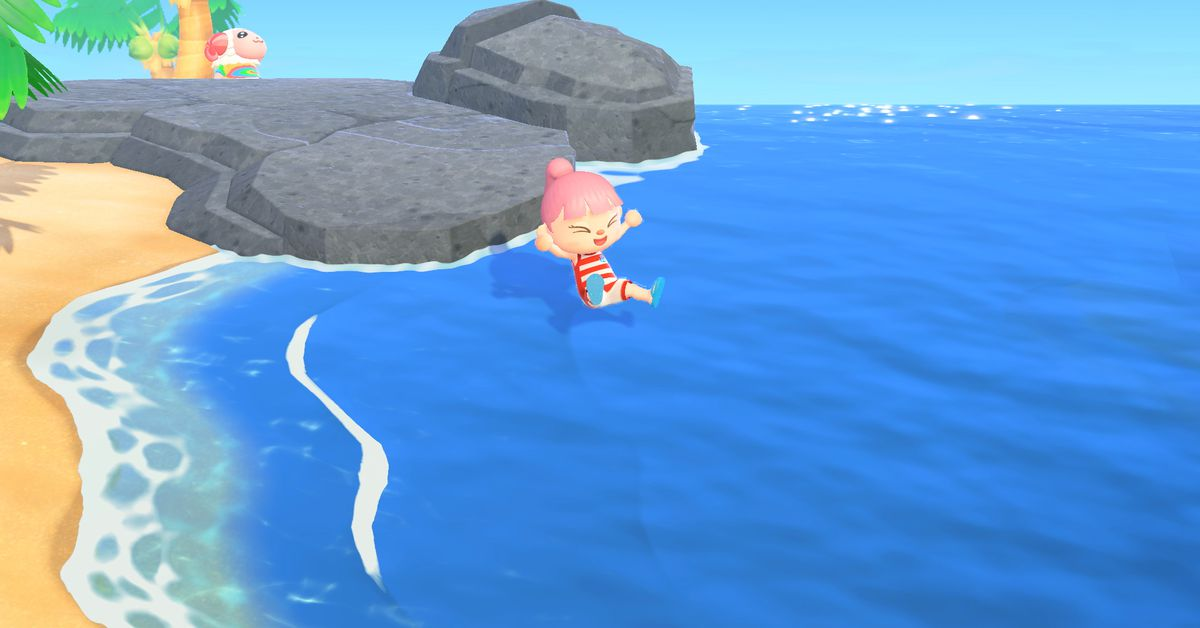 How to get a Wet Suit and swim in Animal Crossing: New Horizons
