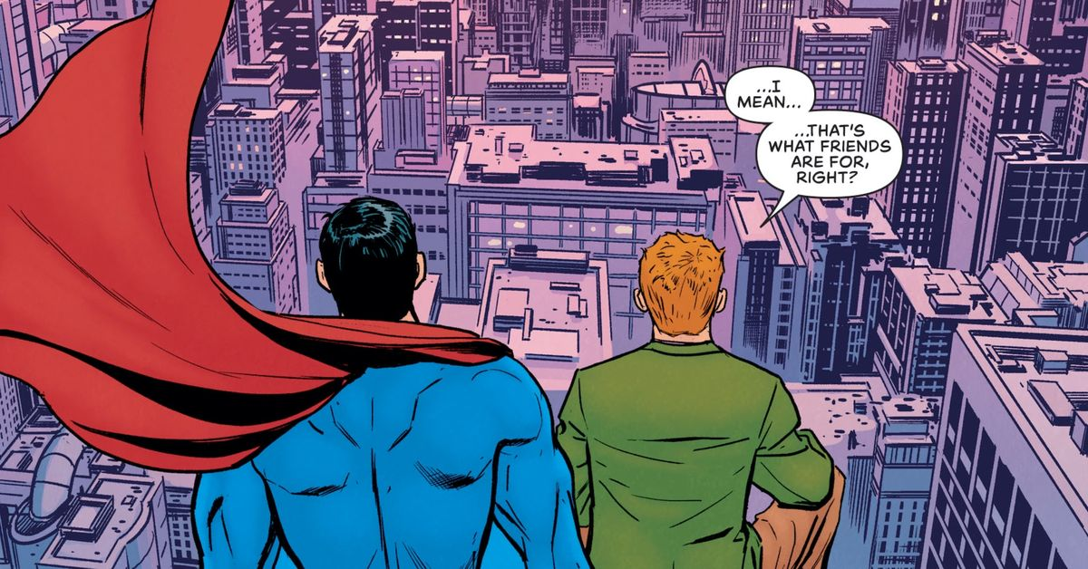 Jimmy Olsen just saved Superman's job and all of DC Comics continuity