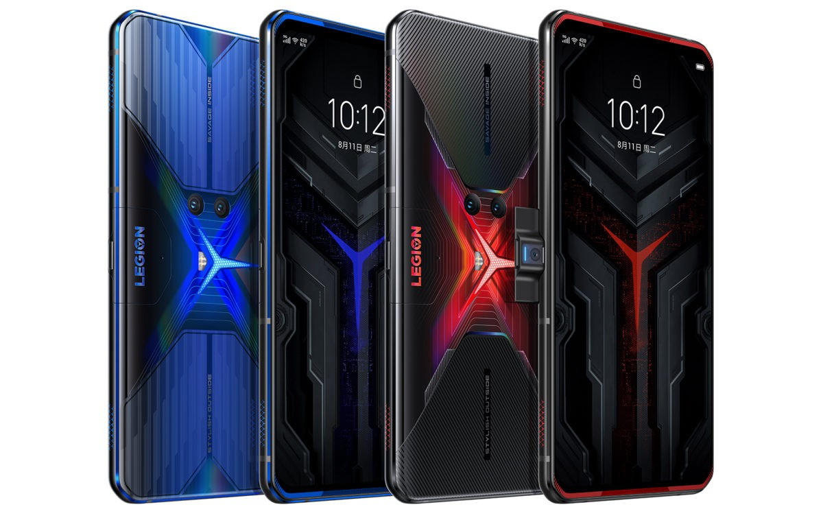 Lenovo Legion Phone Duel with side pop-up camera, 90W charging launched