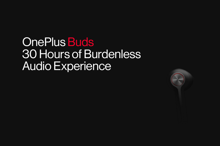OnePlus Reveals the Design and Battery Life of OnePlus Buds