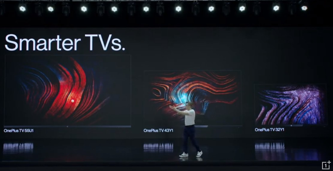 OnePlus launches Y-series and U-series smart TVs in India, with price starting at Rs.12,999