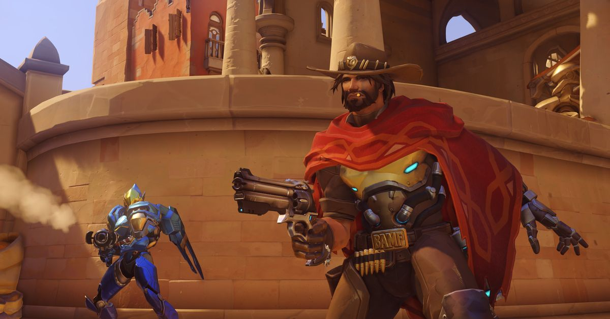 Overwatch patch removes McCree noose spray