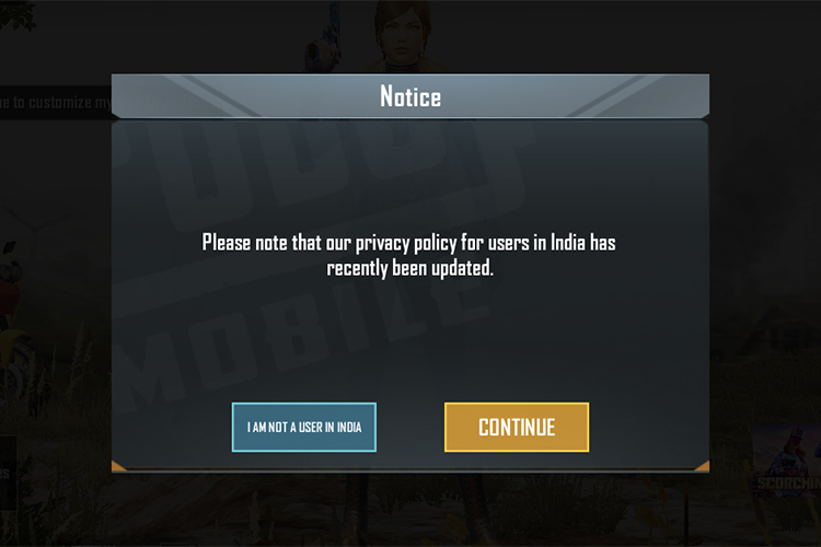 PUBG Mobile Updates its Privacy Policy in India