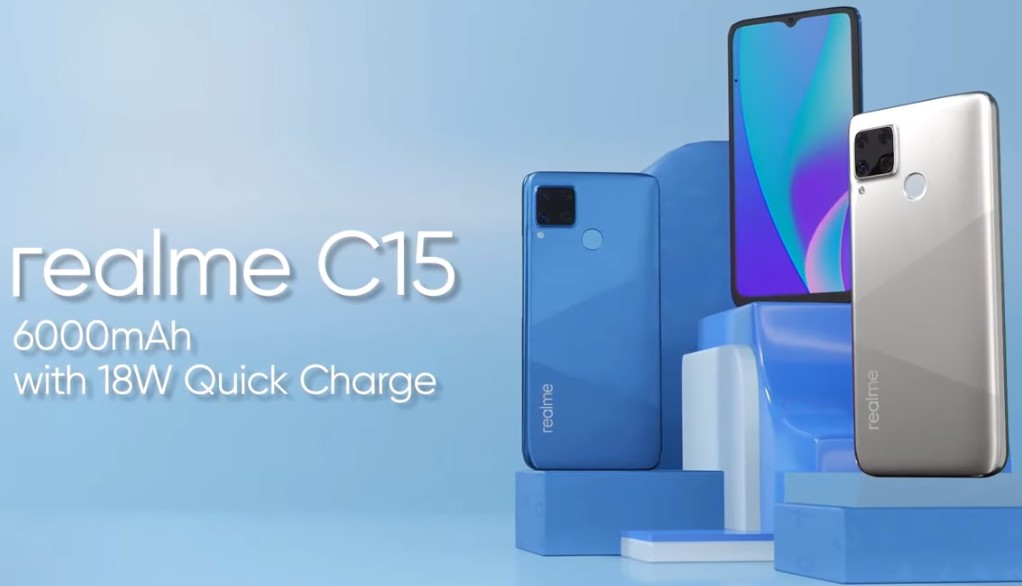 Realme C15 with 6,000mAh battery, 13MP quad cameras launched