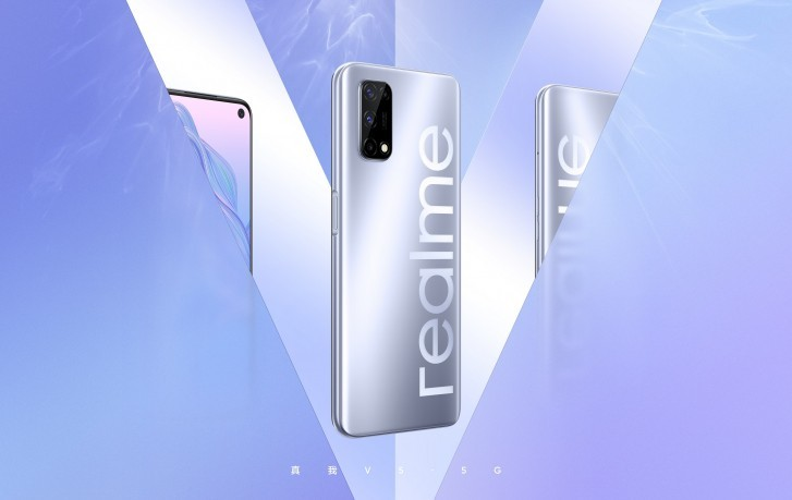 Realme V5 with 5G, quad cameras teased through official renders