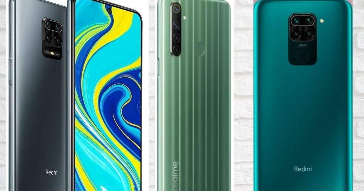 Redmi Note 9 vs Redmi Note 9 Pro vs Realme Narzo 10: Which one has the power?  - redmi note 9 vs note 9 pro vs realme narzo 10 price and specifications compared