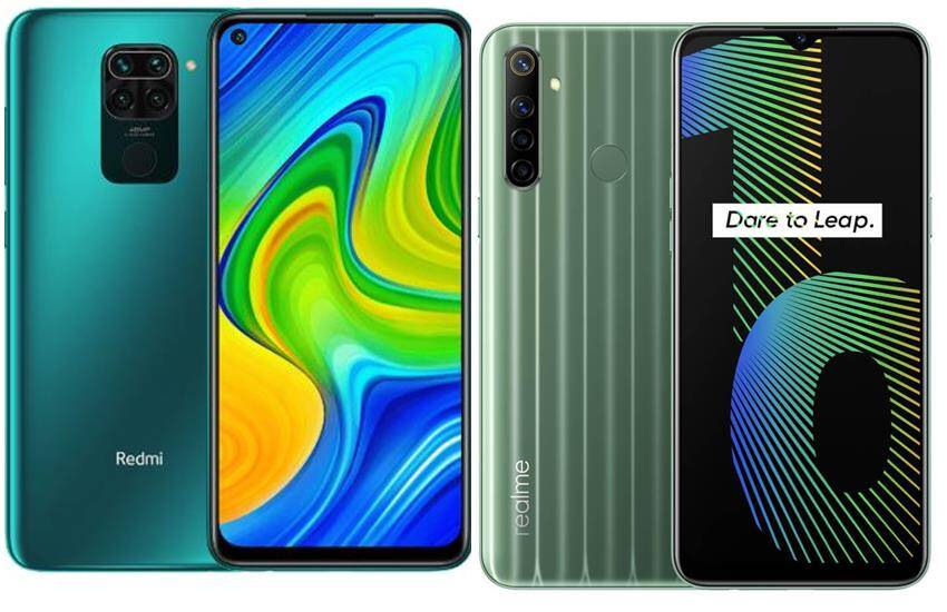 Redmi Note 9 vs realme narzo 10 comparison of redmi mobile price, realme mobile price, features, flipkart sale date, amazon sale date - redmi note 9 vs realme narzo 10: know which smartphone is more powerful with 48MP camera