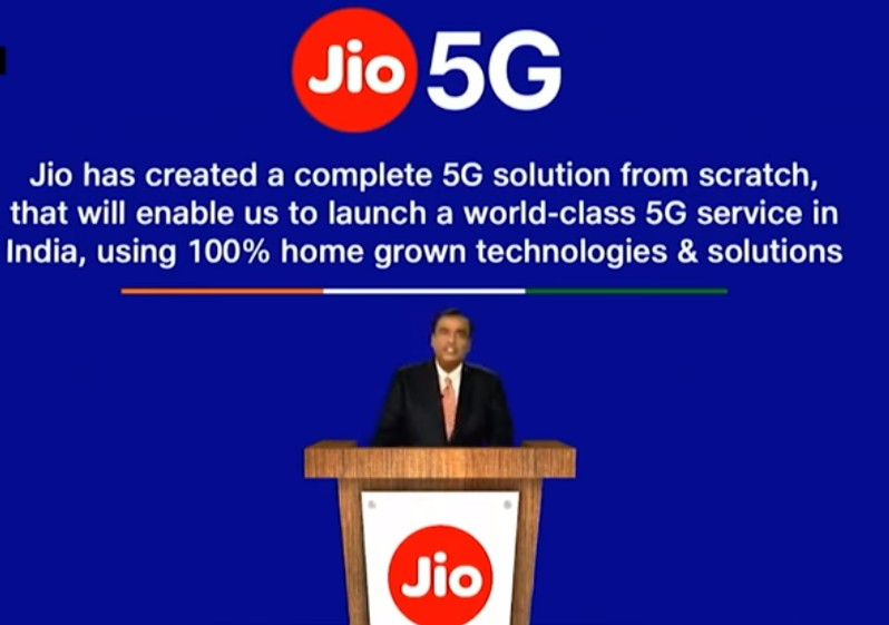 Reliance Jio created 5G solution from scratch, using
