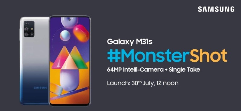 Samsung Galaxy M31s specs teased ahead of July 30 launch