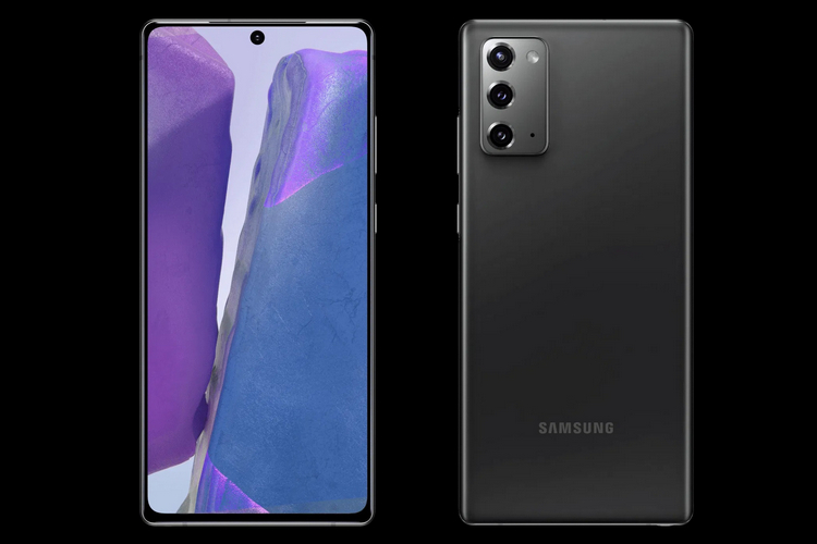 Samsung Galaxy Note 20 Renders Show Triple Rear Cameras, Punch-hole Display