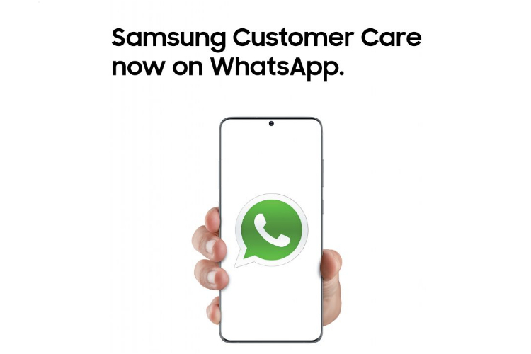 Samsung India Now Offers Customer Support via WhatsApp