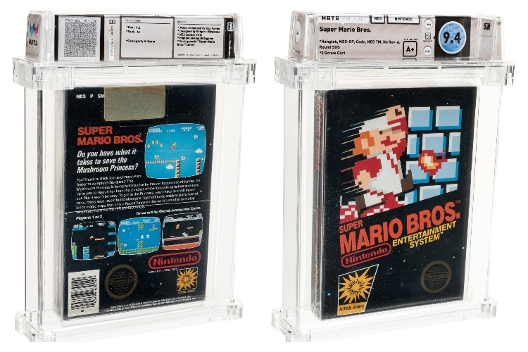 Sealed Copy of Super Mario Bros. Sold for Over Rs. 85 Lakhs