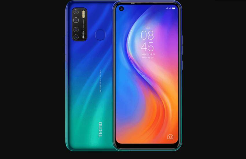 Tecno Spark 5 Pro Price, new tecno smartphone launched, new smartphone 2020, best phone under 10000, latest smartphones - Tecno Spark 5 Pro launched in India, this phone with four rear cameras has many features, know the price