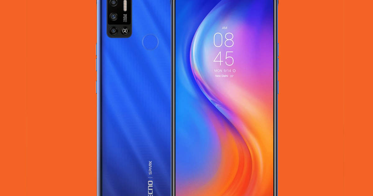 Tecno phone launched with 6000mAh battery and 7 inch display, price Rs 7,999 - tecno spark 6 air launched in india with 6000mah battery and 7 inch display