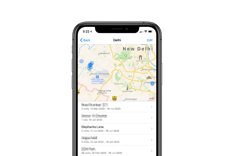 There's a Hidden List of All the Places You've Visited on Your iPhone
