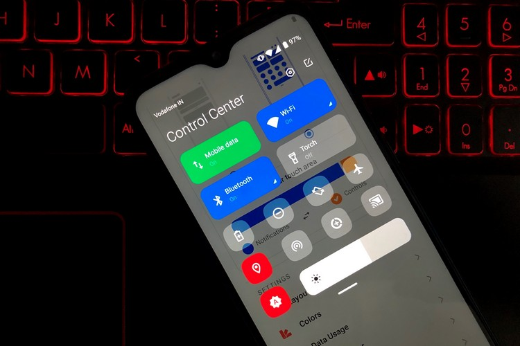This App Brings the MIUI 12 Control Center to Android Devices