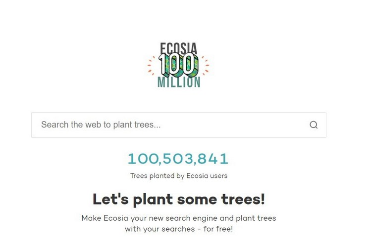 This Search Engine Plants Trees From Every Search You Make
