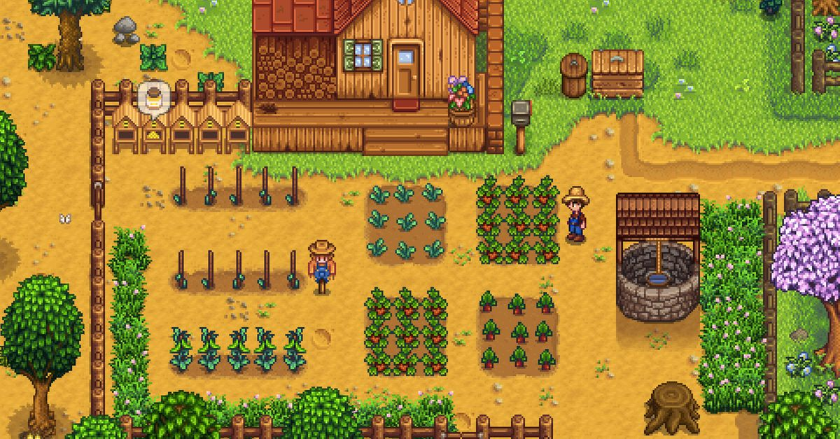This adorable physical copy of Stardew Valley comes with your own deed