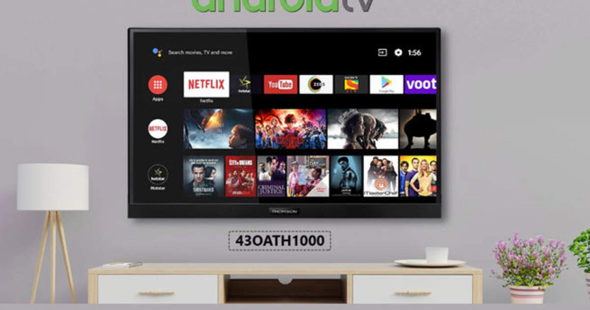 Thomson Oath Pro 4K Android TV: New range of Thomson Android TV launched in India, know what's special - thomson oath pro 4k android tv series launched in india know details