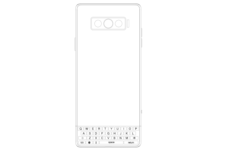 Vivo Patents Phone with Rotatable Physical Keyboard