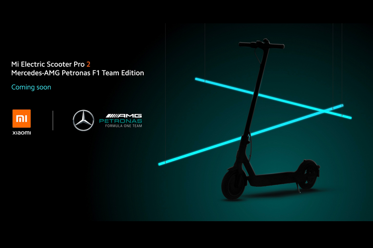 Xiaomi Unveils New Electric Scooters Including a Mercedes-AMG Petronas F1 Edition