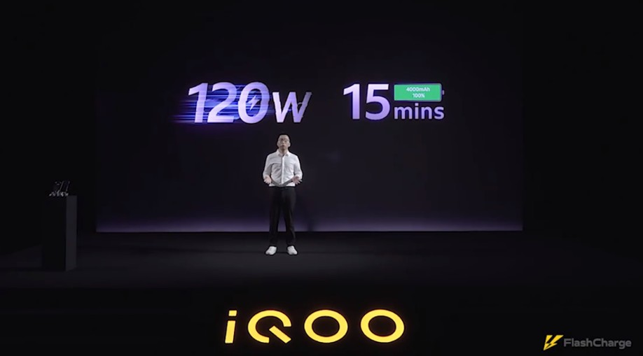 iQOO introduces 120W ultra-fast charging tech; First phone undergoes mass-production