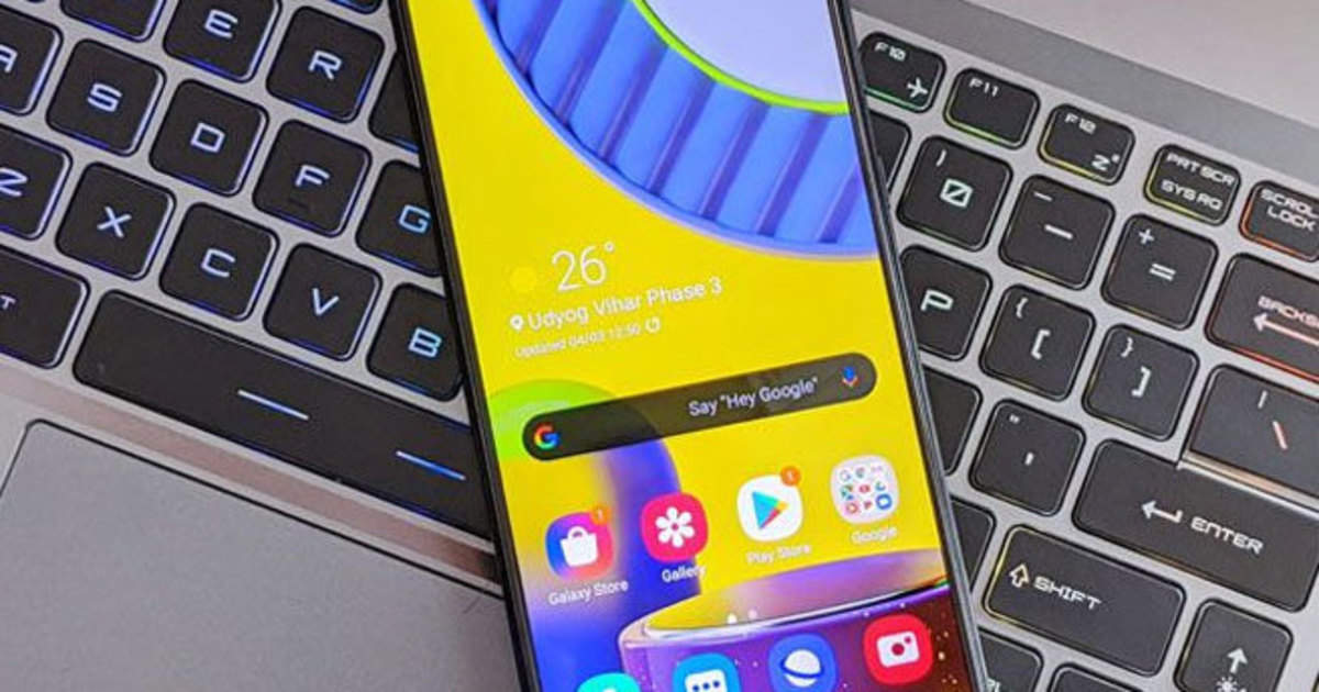 samsung galaxy m31s: coming samsung galaxy m31s, 6,000 mAh battery and 64MP camera - samsung may soon launch galaxy m31s know details