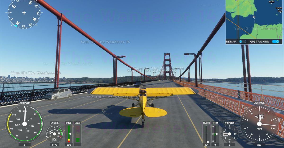 A short list of dumb, dangerous stuff I did in Microsoft Flight Simulator