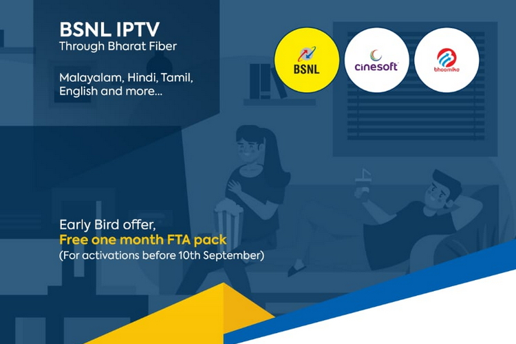 BSNL Launches IPTV Services in Select Cities of Kerala